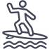UP2PLAY Les Sables d'Olonne - Vague de surf