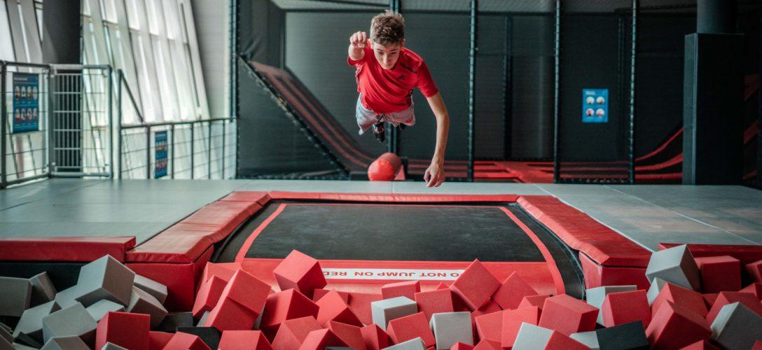 Plus qu'un simple trampoline, une véritable aire de jeux